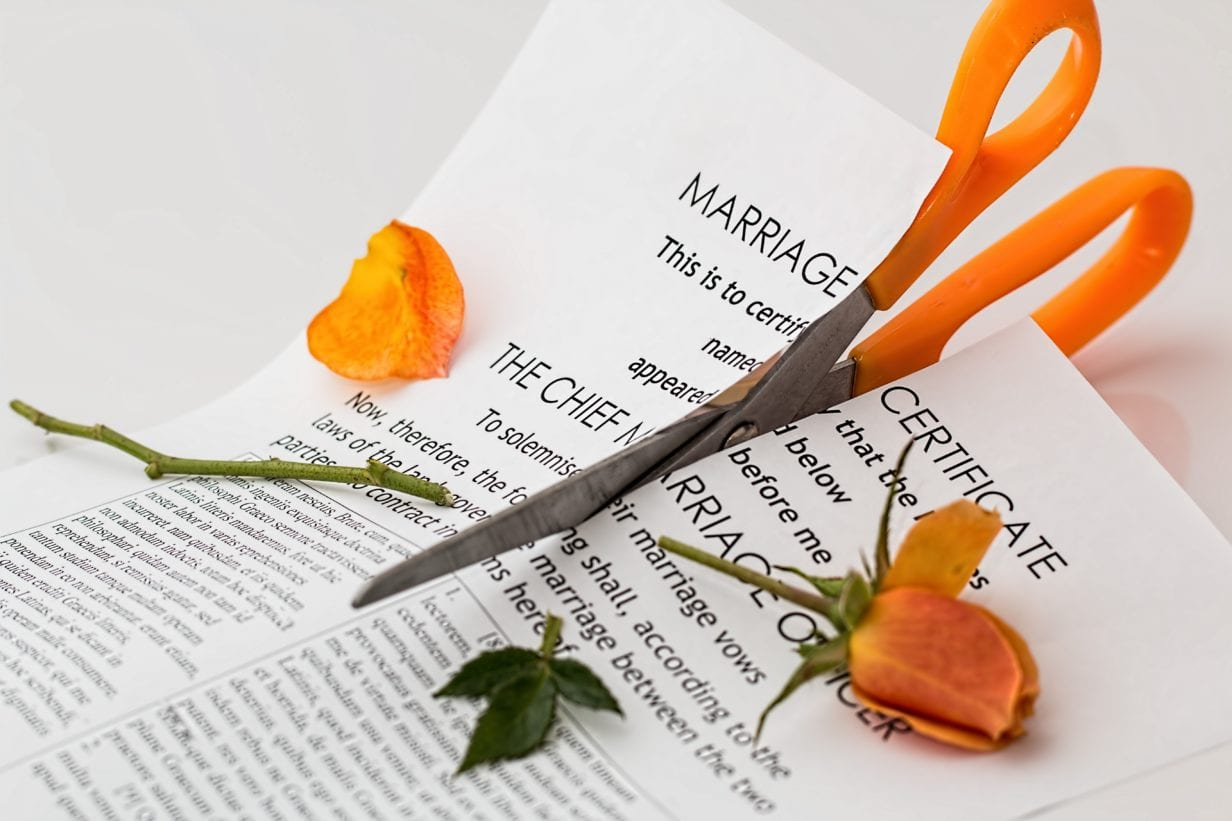 Divorce when Spouse Out-of-State